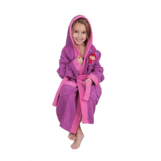 interbaby badjas junior katoen violet rozemaat 116 128 2 821675 1616849402 2