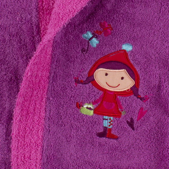 interbaby badjas junior katoen violet rozemaat 116 128 3 821675 1616849402 2