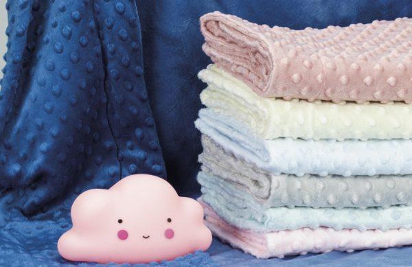 interbaby deken en lampje junior 80 x 110 cm fleece roze 2 delig 6 821499 1616842569