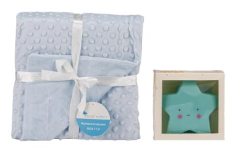 interbaby deken met lamp junior 80 x 110 cm fleece blauw 2 delig 2 821360 1616838560