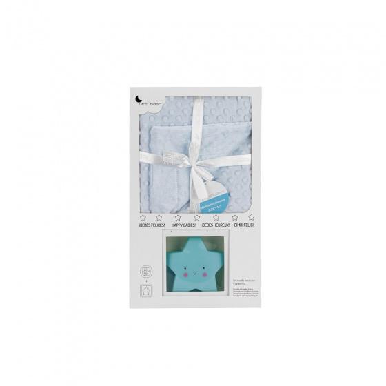 interbaby deken met lamp junior 80 x 110 cm fleece blauw 2 delig 3 821360 1616838560