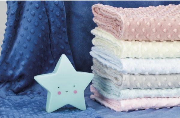 interbaby deken met lamp junior 80 x 110 cm fleece blauw 2 delig 6 821360 1616838561