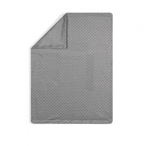 interbaby deken met lamp junior 80 x 110 cm fleece grijs 2 delig 3 821438 1616840961