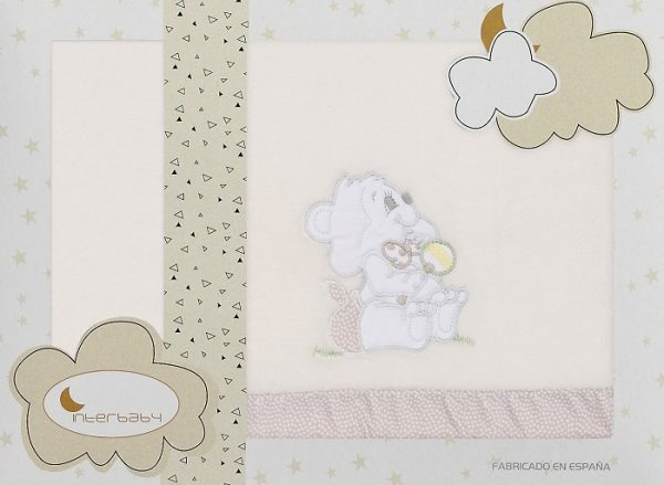 interbaby lakenset wieg winter 110 x 82 cm polyester beige 3 delig 535775 1611832232