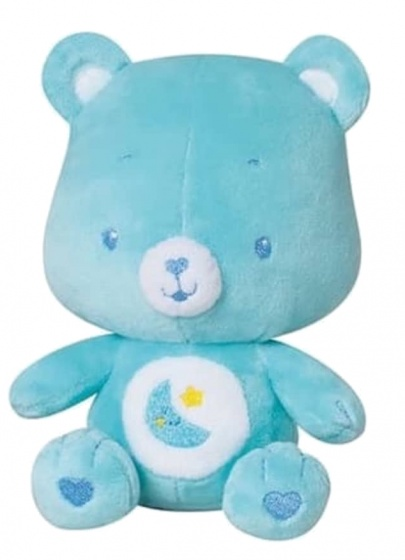 jemini knuffelbeertje rammelaar pluche jongens blauw 16 cm 164075