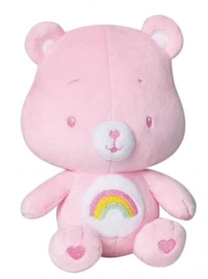 jemini knuffelbeertje rammelaar pluche meisjes roze 16 cm 164074