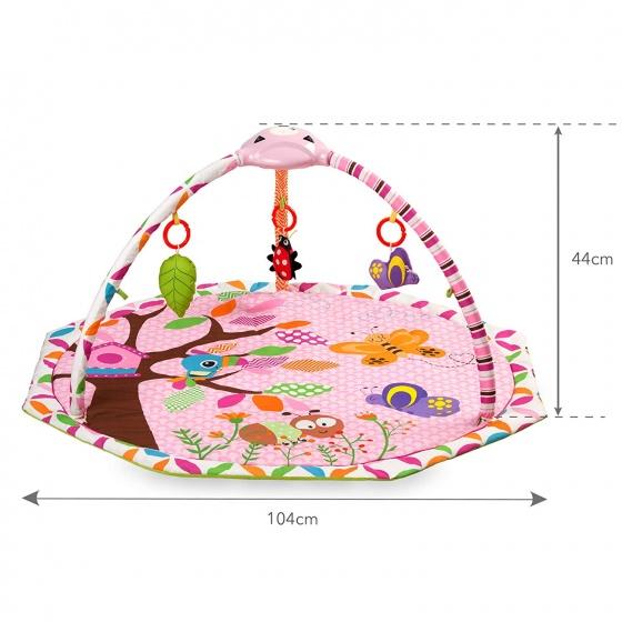 kidwell babygym niba educatief 104 cm roze 5 341263 1575633945