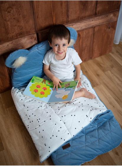 kinder hop slaapzak dream catcher 170 cm polykatoen blauw 2 498534 1605529566