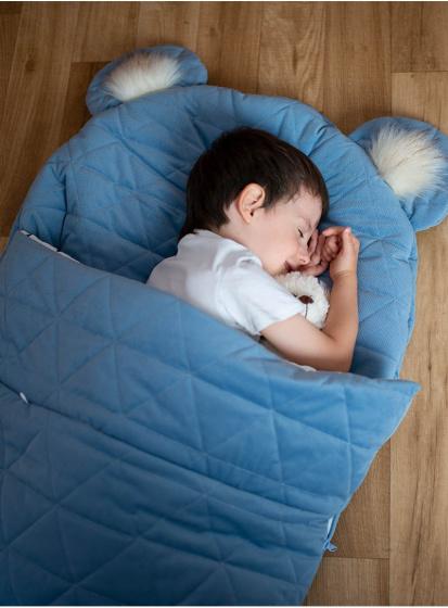 kinder hop slaapzak dream catcher 170 cm polykatoen blauw 3 498534 1605529567