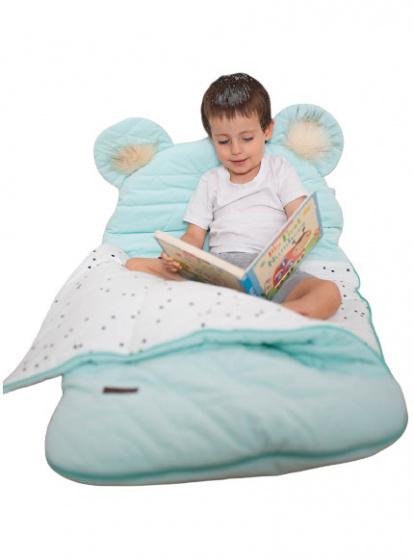 kinder hop slaapzak dream catcher 170 cm polykatoen blauw 498513 1605528796