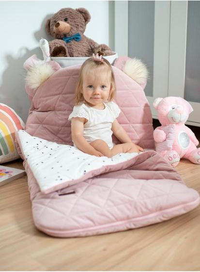 kinder hop slaapzak dream catcher 170 cm polykatoen roze 2 498569 1605530656