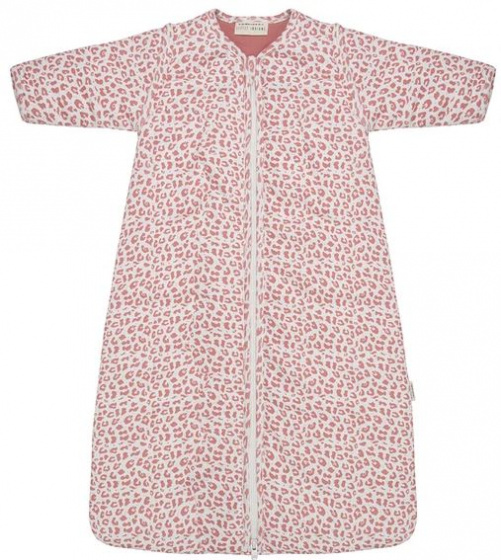 little indians slaapzak leopard 70 cm katoen roze wit 470872 1601721865 1