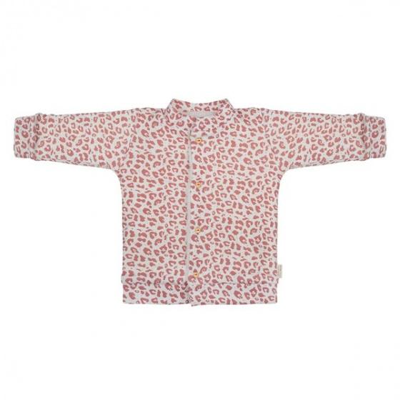 little indians vest leopard meisjes katoen roze wit 420270 1592479859
