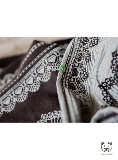 luna dream draagdoek sling diamond lace sensual katoen bruin 6 399539 1589549947