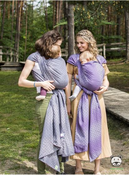 luna dream draagdoek sling herringbone purple katoen paars 2 399575 1589551333