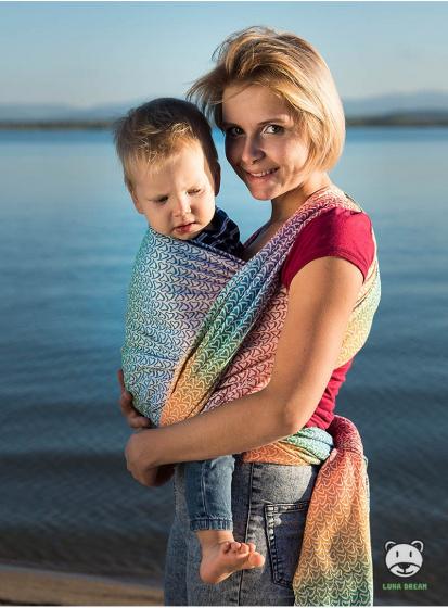luna dream draagdoek sling little hearts rainbow katoen 2 399577 1589551556