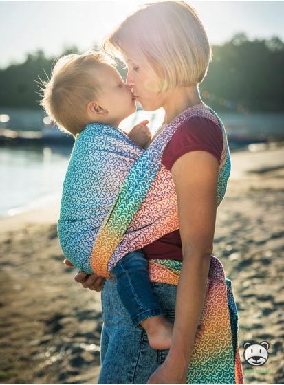 luna dream draagdoek sling little hearts rainbow katoen 6 399577 1589551558