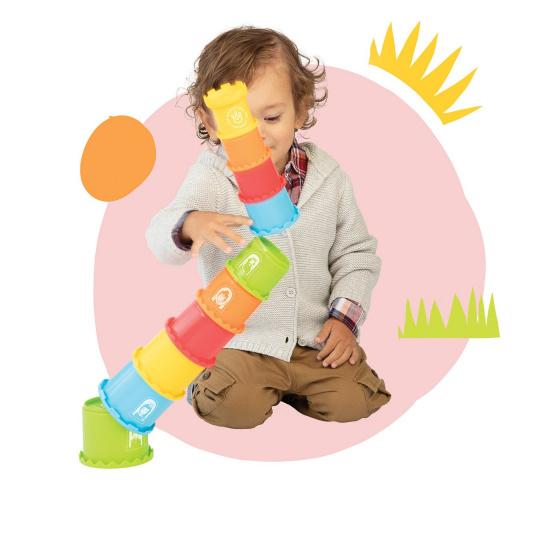 manhattan toy stapeltoren stack and smash junior 5588 cm 10 delig 4 425443 1593421628