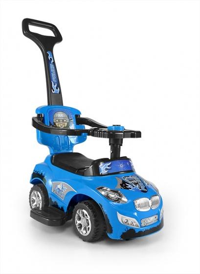 milly mally happy loopwagen politieauto blauw 250994