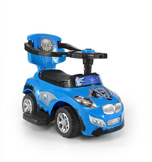 milly mally happy loopwagen politieauto blauw 2 250994