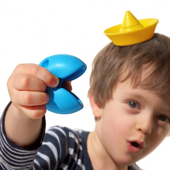 moluk omvormbare speelblokken elastisch rubber 9 stuks oranje geel blauw 3 380364 1586434700