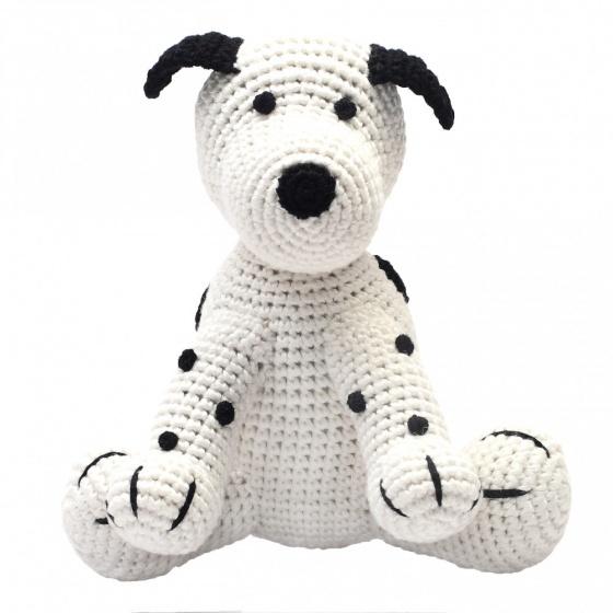 naturezoo knuffeldier hond gehaakt 20 cm wit 332928 1573201894