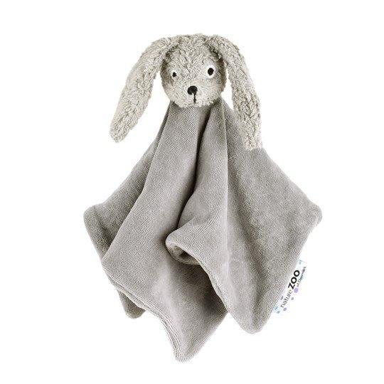 naturezoo knuffeldoekje konijn biologisch 32 cm grijs 333589 1573461803
