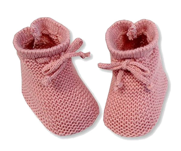 nursery time babysloffen met veterstrik 0 3 maanden zalmroze 498609 1605532000