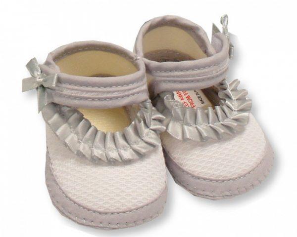 nursery time pantoffels meisjes 0 3 maanden grijs 350225 1578487918