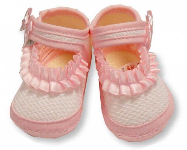 nursery time pantoffels meisjes 0 3 maanden roze 350227 1578488004