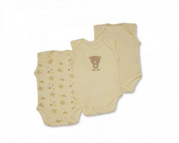 nursery time romper mouwloos beer beige 3 stuks 365976 20200228121636 5