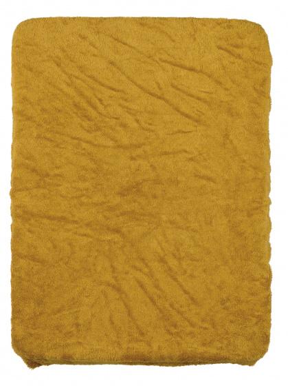 pericles aankleedkussenhoes 70 cm bamboe polyester okergeel 500418 1605713721