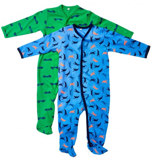 pippi slaapromper junior katoen groen blauw stuks 476598 1602764092