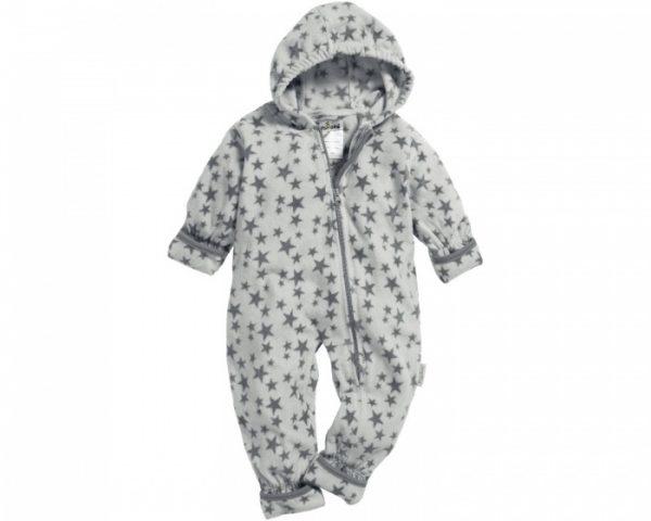 playshoes babypyjama onesie fleece junior sterren grijs 335610 1573979715