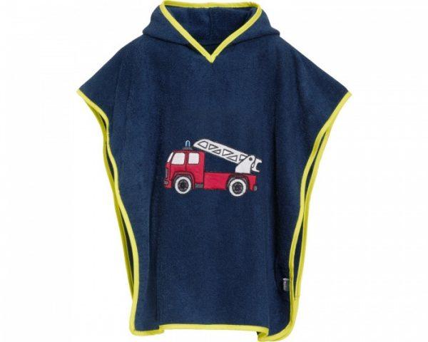playshoes badponcho brandweer donkerblauw junior 297046 1559561851