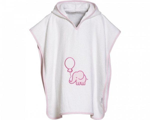 playshoes badponcho olifant roze meisjes 297057 1559562383