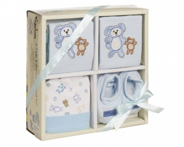 playshoes cadeauset baby blauw 4 delig 344293 1576499139