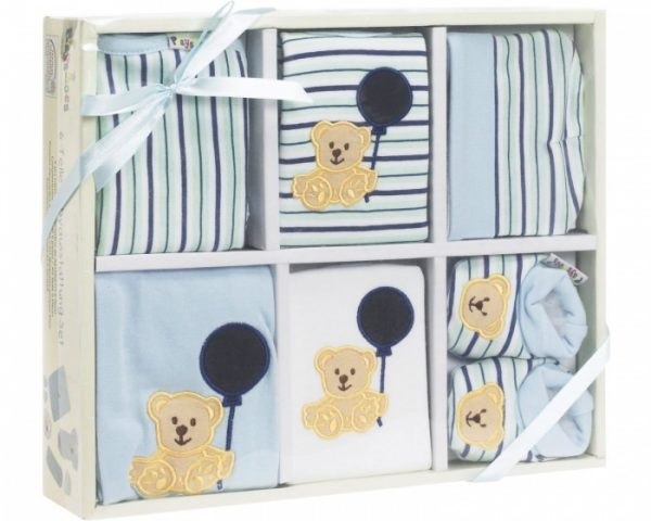 playshoes cadeauset baby blauw 6 delig 344345 1576502326