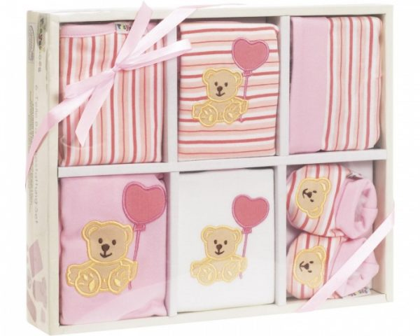 playshoes cadeauset baby roze 6 delig 344338 1576501989