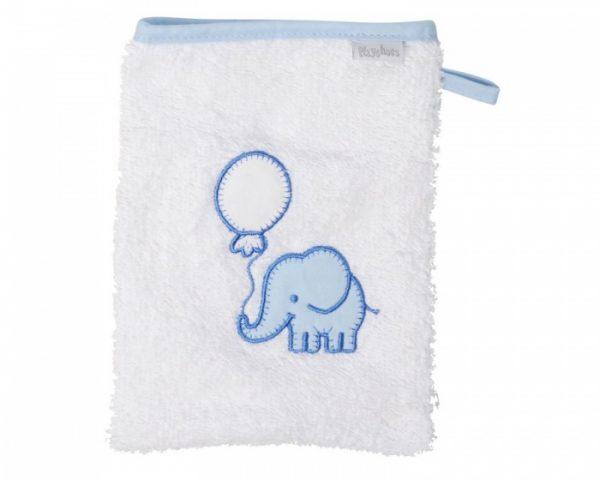 playshoes washand olifant 20 cm wit blauw 329158 1572346103