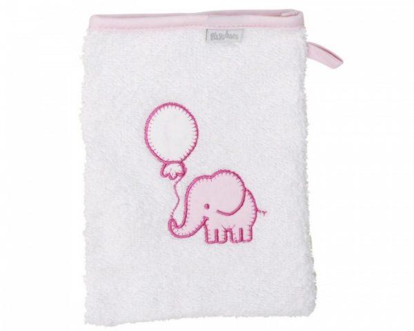 playshoes washand olifant 20 cm wit roze 329165 1572346338