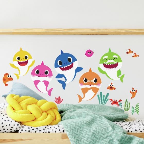 roommates muurstickers baby shark vinyl 39 stuks 2 369449 1583935684