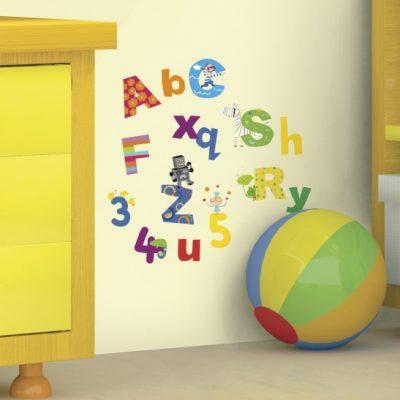 roommates muurstickers cijfers en letters vinyl 72 stuks 333117 1573217720
