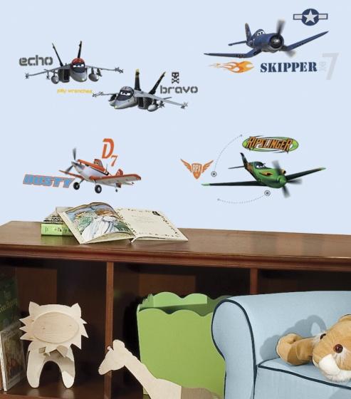 roommates muurstickers disney vliegtuigen vinyl 43 stuks 2 337521 1574411956
