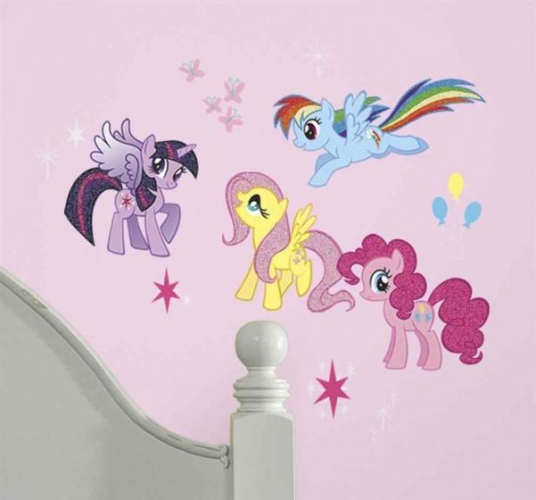 roommates muurstickers my little pony vinyl 31 stuks 2 337276 1574334430