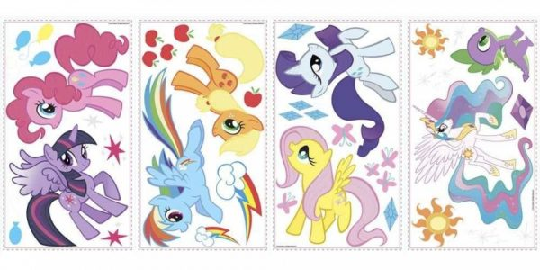 roommates muurstickers my little pony vinyl 31 stuks 337276 1574334429