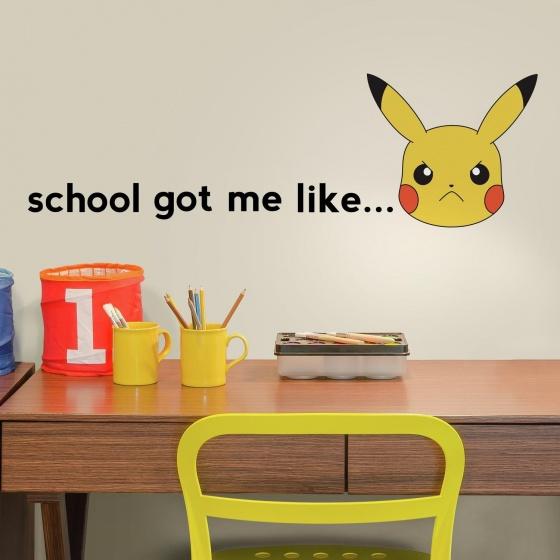 roommates muurstickers pikachu school vinyl 12 stuks 2 337713 1574427592