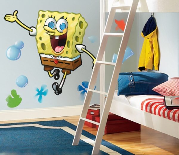 roommates muurstickers spongebob squarepants vinyl 23 stuks 3 369101 1583849555