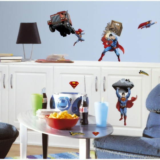 roommates muurstickers superman day of doom vinyl 21 stuks 2 369054 1583845120