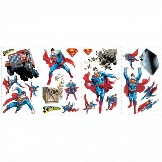 roommates muurstickers superman day of doom vinyl 21 stuks 369054 1583845120